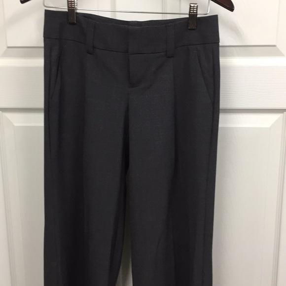 Victoria's Secret Pants - Grey Flare Dress Pants sz 2 LONG/TALL